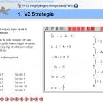 Vergelijkingen oplossen met de weegschaalmethode